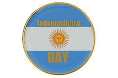 Independence Day concept Argentina Stock Illustration