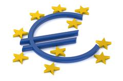 European Central Bank concept Stock Illustration