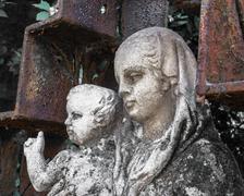 Statue of Mary and Jesus Kuvituskuvat