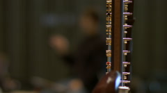 Symphonic Orchestra details. Stock Footage