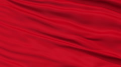 Muscat City Close Up Waving Flag - stock footage