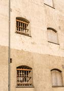 Bars on prison windows Kuvituskuvat