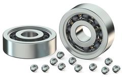 Ball bearings Stock Illustration