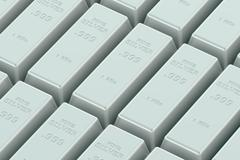 Silver Ingots Stock Illustration