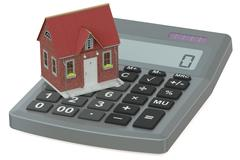 Mortgage and down payment Stock Illustration