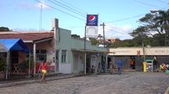 Local Supermarket In Trujillo Honduras 4K UHD - stock footage