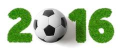 2016 - Football and Grass Stock Photos