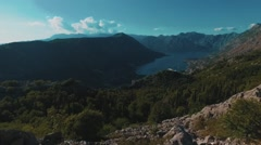 Montenegro Rocks Stock Footage