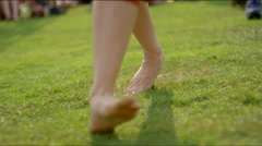 Girl's dancing feet Arkistovideo