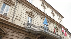 Teatro Fraschini in Pavia, PV, Italy - stock footage