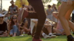 Dancing feet Stock Footage