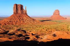 Monument Valley Navajo Tribal Park - stock photo