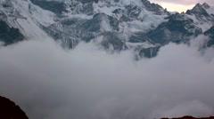 Kanchenjunga region Stock Footage