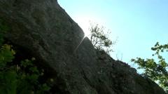 The ridge on the mountain Stol Stock Footage