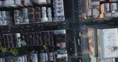 Morningside Hights & Harlem Aerial Stock Footage