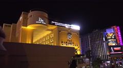 4K The Cromwell Hotel Las Vegas - Circa 2016 Stock Footage