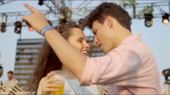 Couple dances passionately Stock Footage