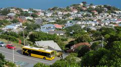Hataitai suburb, Wellington, N.Z. - stock photo