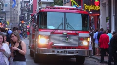 New Orleans Fire Department - stock footage