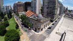Rosario City Palacio Vasallo Stock Footage