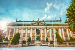The House Of Nobility - Riddarhuset in Stockholm, Sweden Stock Photos