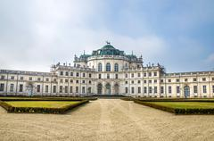 Stupinigi palace - turin - piedmont  italy region Stock Photos