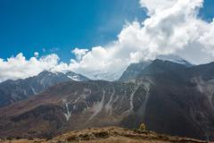 Picturesque mountain panorama. Stock Photos