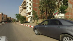 Street view of Aswan Stock Footage