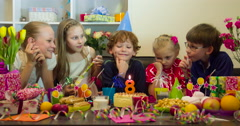 Joyful Birthday 4K - stock footage