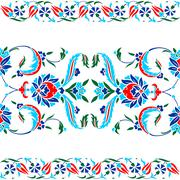 Traditional Oriental Art Stock Illustration