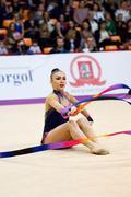 Svetlana Rudenko, Kyrgyzstan. Ribbon Stock Photos