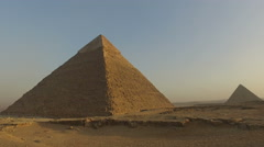 Pyramid of Khafre, Egypt - stock footage