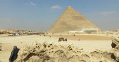 Great pyramid of Giza Stock Footage