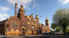 Moseley Road Baths - Birmingham. Stock Footage