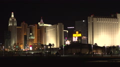 4K: Low Income Housing Rests in the Shadows of Luxury Resort Hotels - stock footage