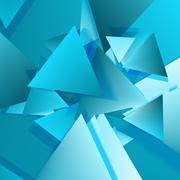Polygonal Material Design Stock Illustration