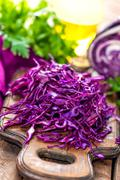 scotch kale - stock photo