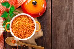 lentil - stock photo
