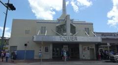 Tower Theatre in Little Havana Stock Footage