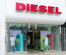 Diesel Retail Storefront and Logo - stock photo