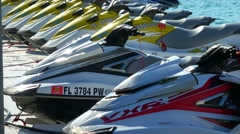 Jetski Rental on Key West - stock footage