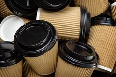Take-out coffee cup - stock photo