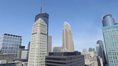 MPLS City Scape1 Stock Footage