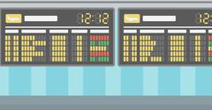 Background of schedule board - stock illustration