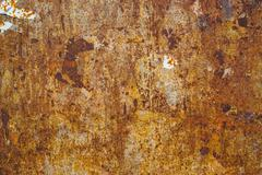 Corrosion texture, steel plate surface - stock photo
