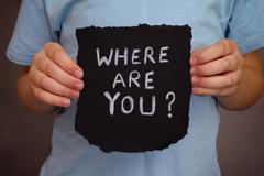 Where are you? Stock Photos