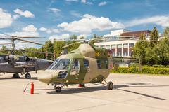 Kazan Ansat Russian light multipurpose helicopter Stock Photos