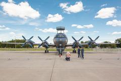 Naval Ilyushin IL-38N Stock Photos