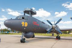Naval Ilyushin IL-38N Stock Photos