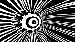 Gobo Mask Abstract eye Stock Footage